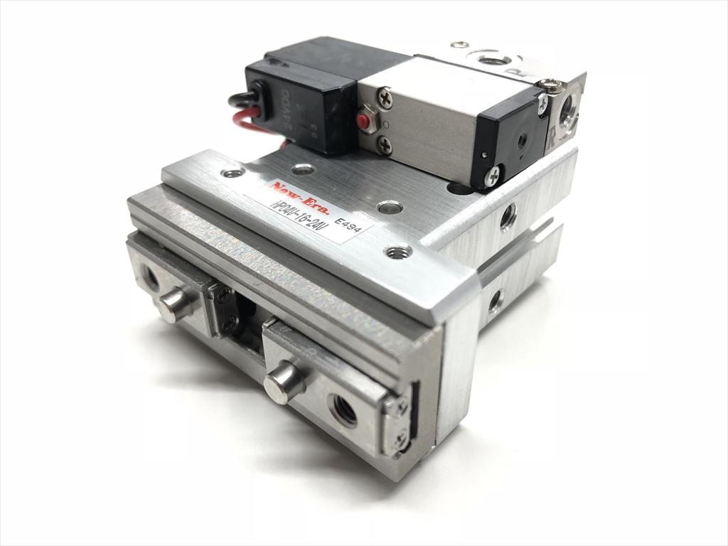 New-Era直线导轨平行气爪(带电磁阀型)HP04VR