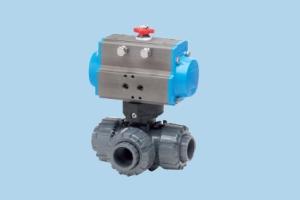 Valbia氣動執行器 三通 8P016300(T) - 8P016700(L) - 8P016400(T) - 8P016800(L)