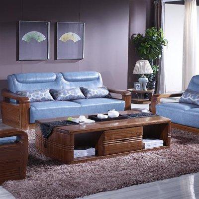 9103皮沙发 9201大茶几
