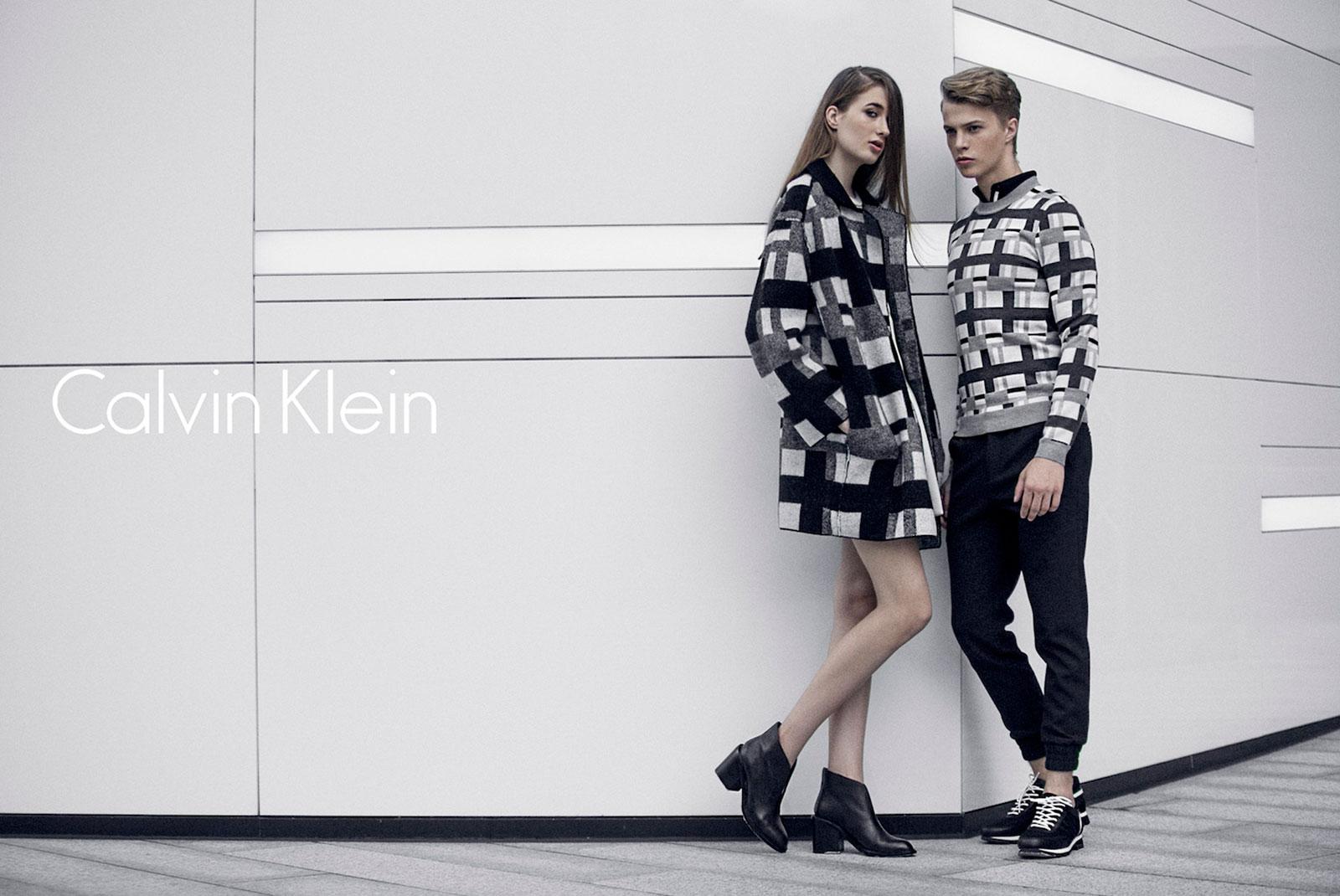 CK时装品牌设计(一)
