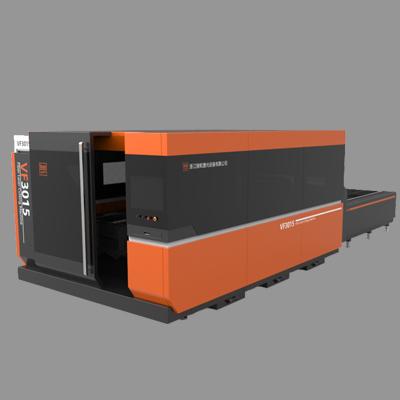 VF-30L 全封闭式光纤激光切割机