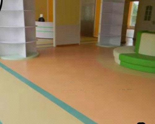 陽光幼兒園PVC地板效果圖