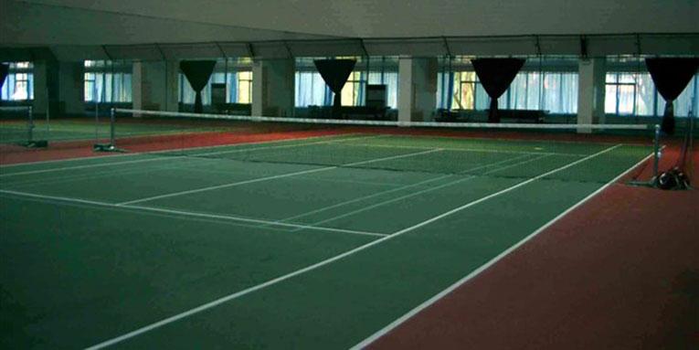 龙脉温泉网球