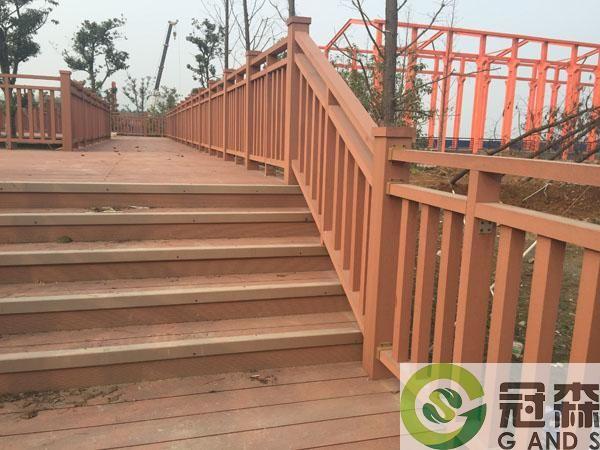 塑木围栏工程