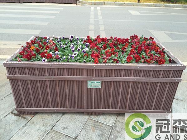 塑木花箱工程