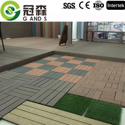 塑木DIY地板