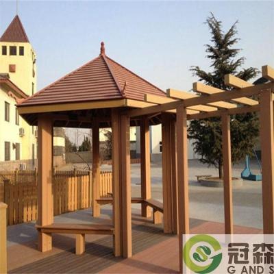 塑木凉亭户外景观