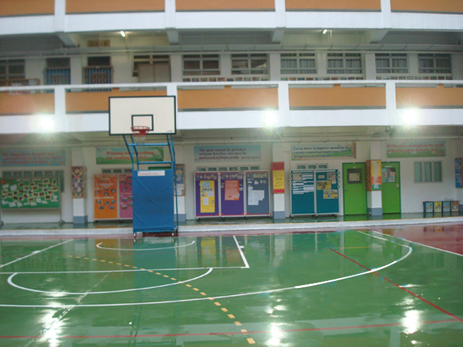 节宁泛光灯之篮球案例