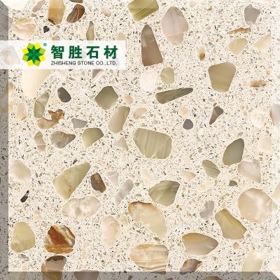 水磨石-WJ玛莎米黄