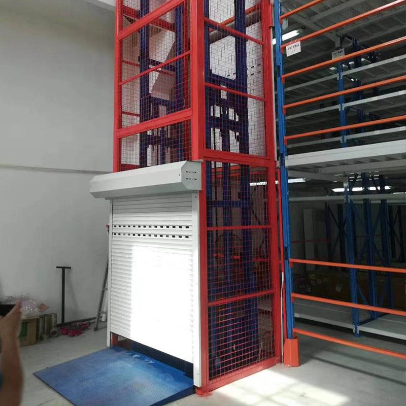 導柱式升降貨梯