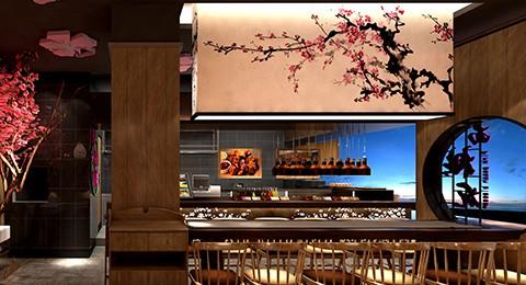 中式快餐粉面桃花