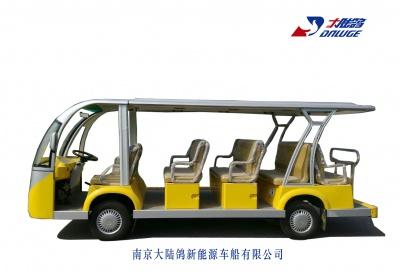 14座封閉式電動觀光車