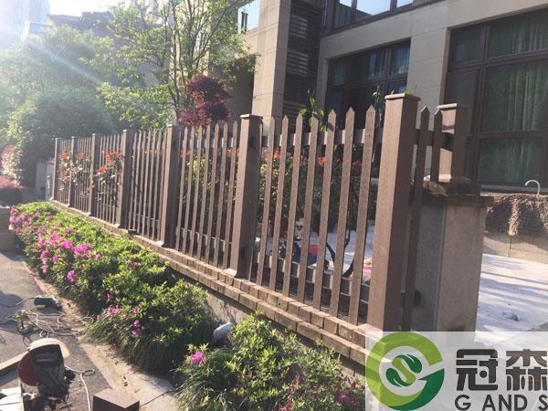 塑木栅栏工程