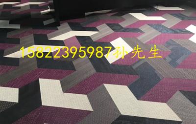 PVC编织地板