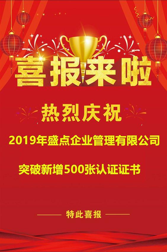 【年報】盛點公司2019年業績突破500...