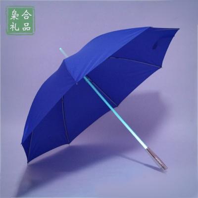 灯光伞中棒发光