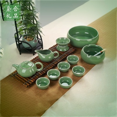 12头哥窑茶具