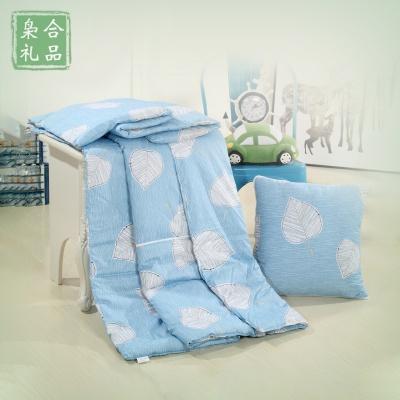 时尚全棉抱枕被