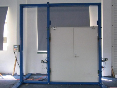 防火门可靠性试验装置