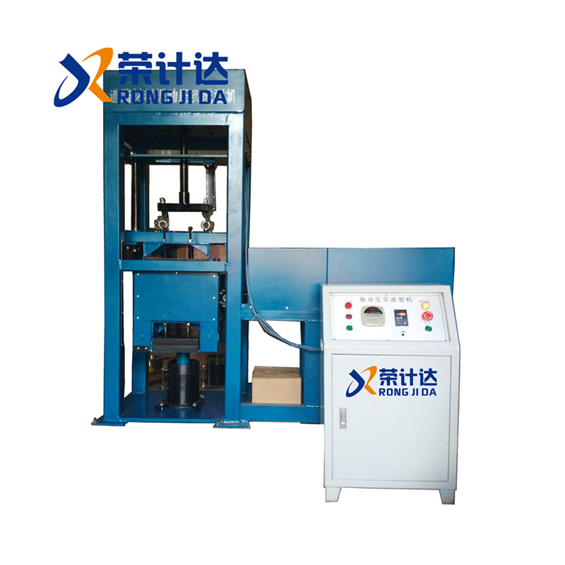 VVTE垂直振动压实成型机,道路材料振动压实成型机