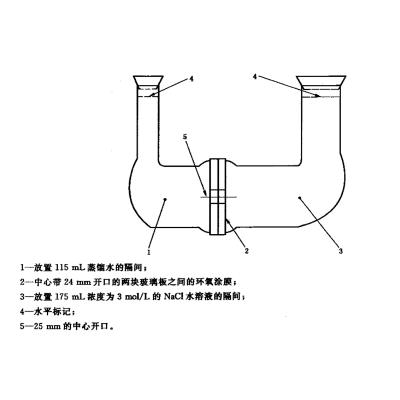 环氧涂层预应力钢绞线氯化物抗渗性试验装置