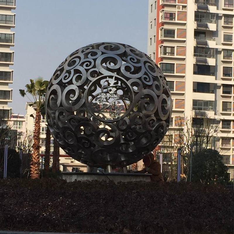 扬中市浩雲湾小区2.6直径不锈钢拉丝英超狼队赞助商万博app