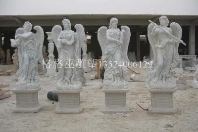 人物砂岩雕塑4