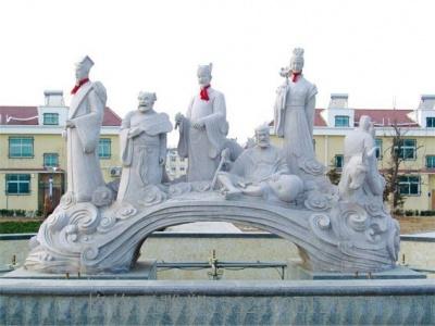 人物砂岩雕塑3