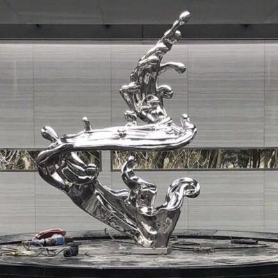 不锈钢雕塑8
