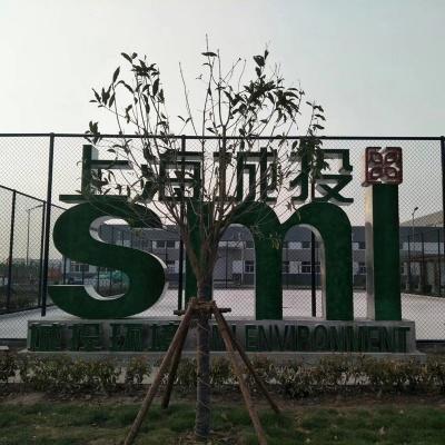 上海不锈钢草坪金属字母字体