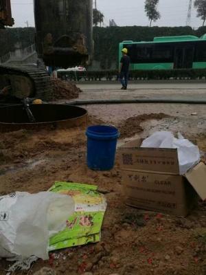 可利尔旋挖钻专用高效泥浆粉使用图片说明