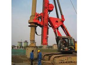 旋挖钻机施工1