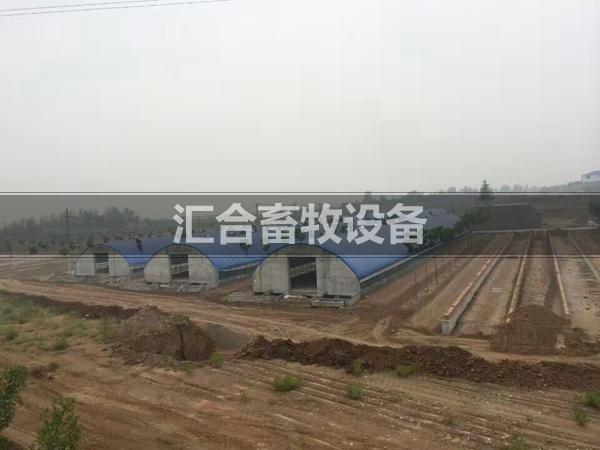 承建中的养殖场