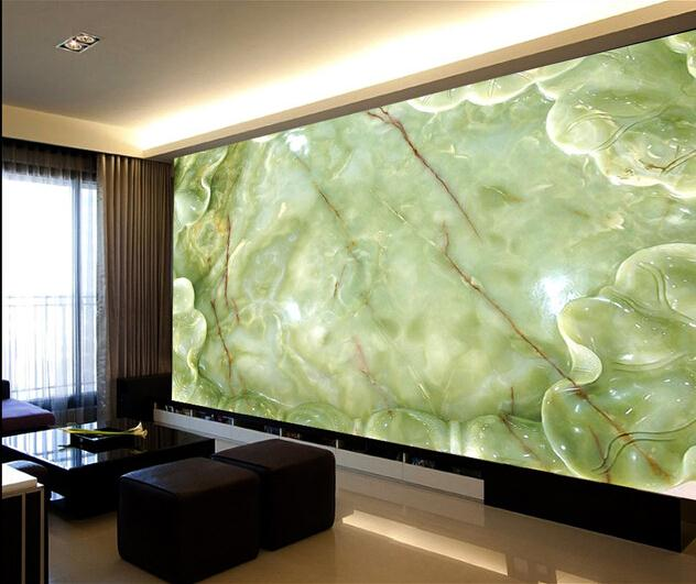 玉雕电视背景墙