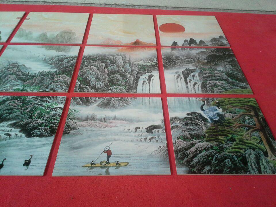 彩雕背景墙 (2)