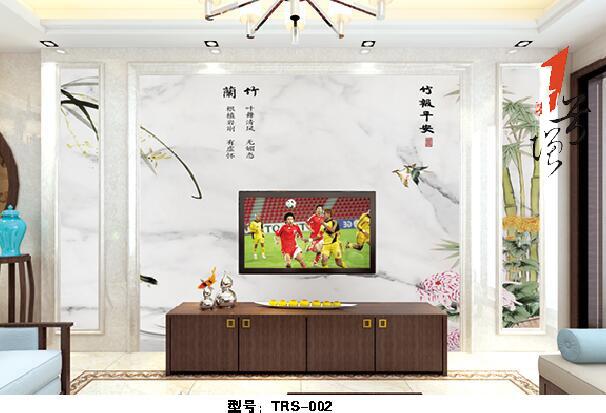 新中式石材背景墙(66)