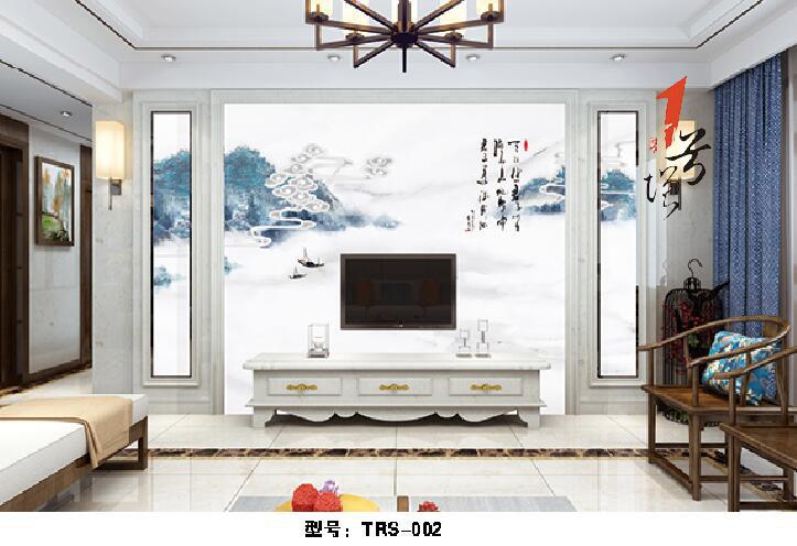 新中式罗码柱背景墙(67)