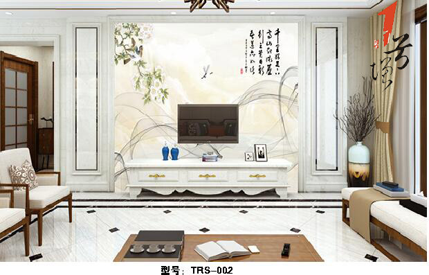新中式罗码柱背景墙(68)