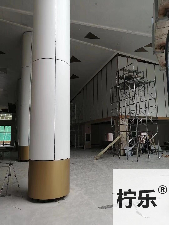 百色樂業高速服務區三角天花吊頂4