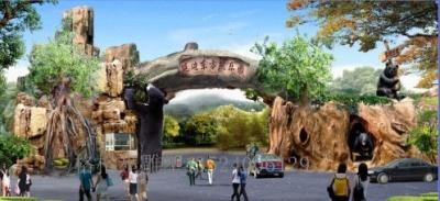 上海假树雕塑20