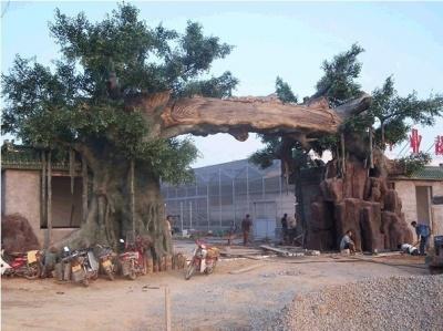 上海假树雕塑31