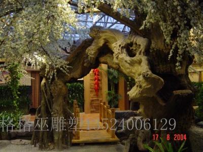 上海假树雕塑27