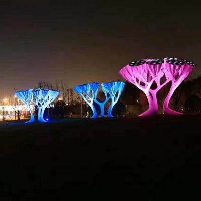 灯光树玻璃钢雕塑