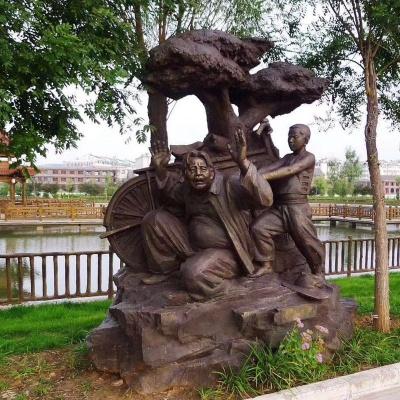 锻铜雕塑2
