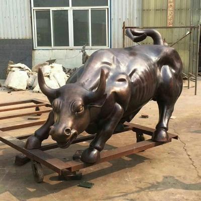 牛锻铜雕塑