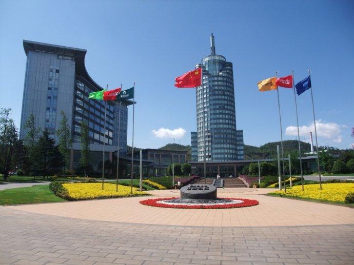 云南省玉溪市红塔集团安保大楼