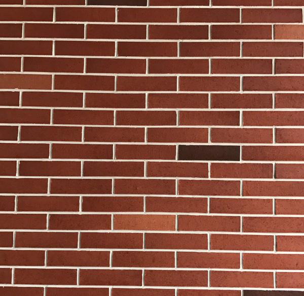 外墙劈开砖给别墅建筑装饰了一...