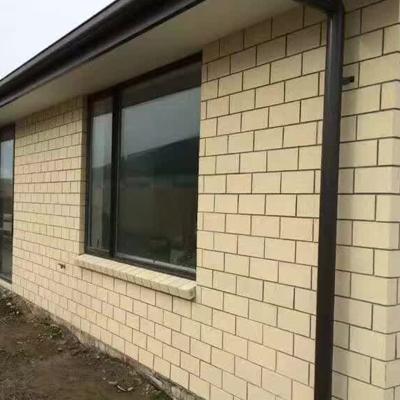 清水墙砖效果图