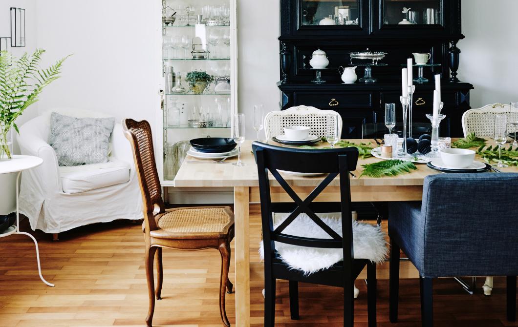 摆上一桌简单的餐桌,好好享用吧
