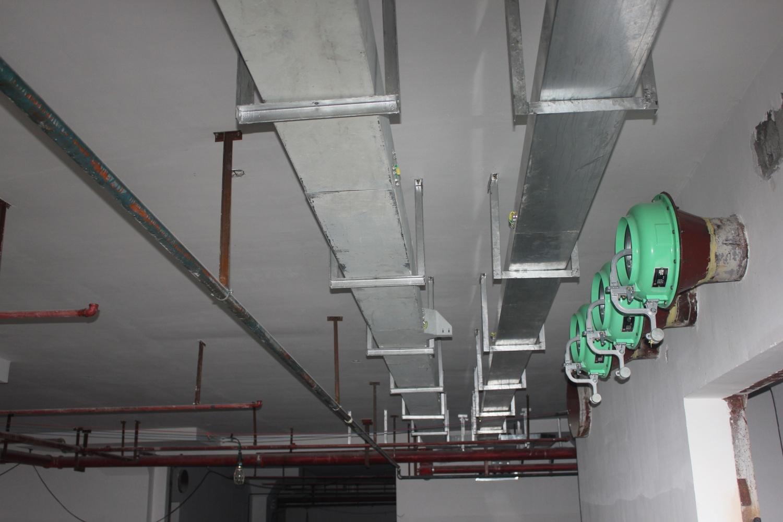 广州市质量技术中心办公小区机电安装工程